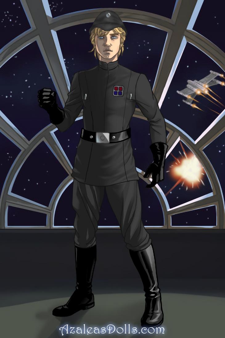 Imperial Lieutenant Luke Skywalker by Lexicona96