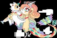 [P] Elxi and Pixi Pixel by nyazera