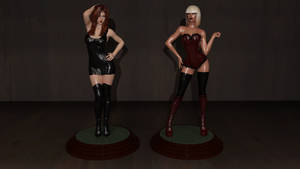 College Mannequin:  Figurine Finale by CaptainHarlock-42