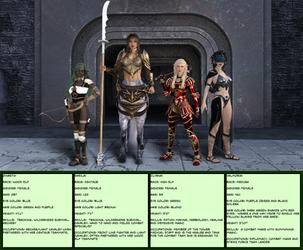 Valmoria's Strike Team Bio by CaptainHarlock-42