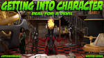 Getting into Character: Chapter 5 Cover by CaptainHarlock-42