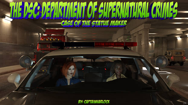 DSC:  Department of Supernatural Crimes Cover