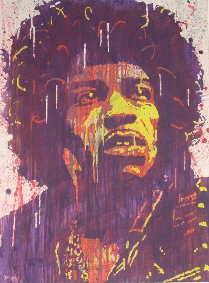 Jimi Hendrix by Keynant