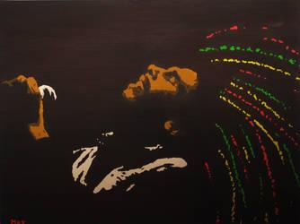 Bob Marley by Keynant