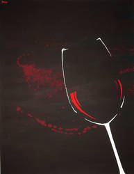 Wine splash by Keynant
