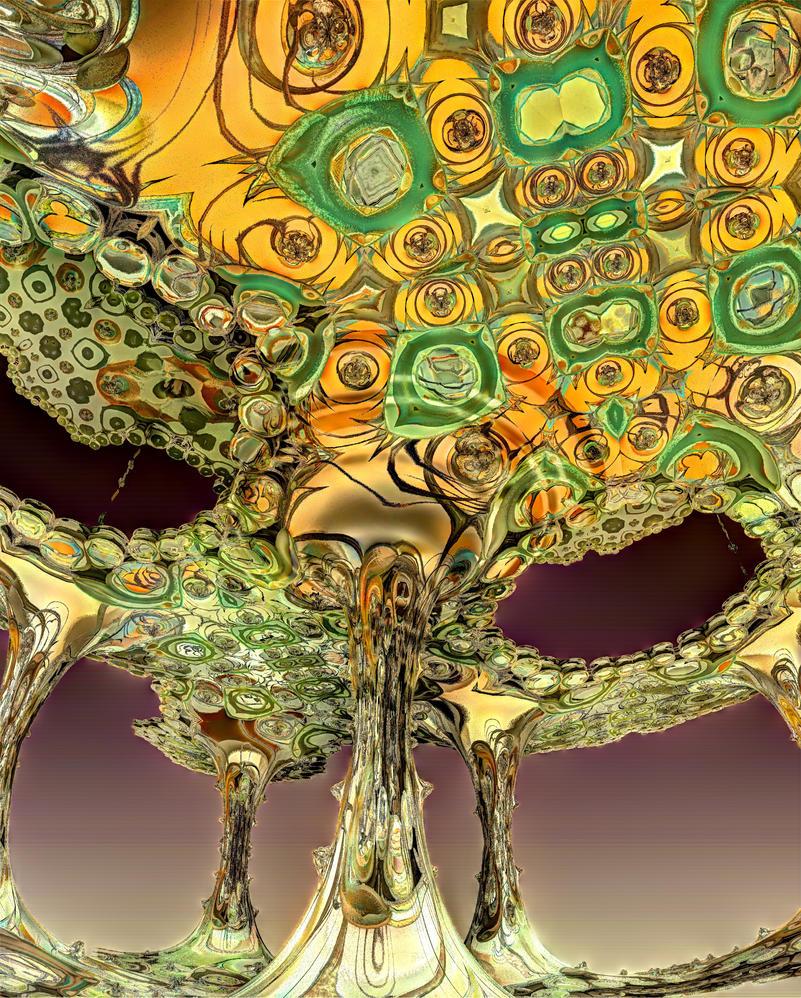 Homage to Klimt by ellenm1