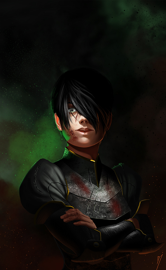 Toph Bei Fong by TeaInK
