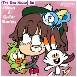 TLH Au (TNH): Olivia and Galar Starters by BRSstarJV