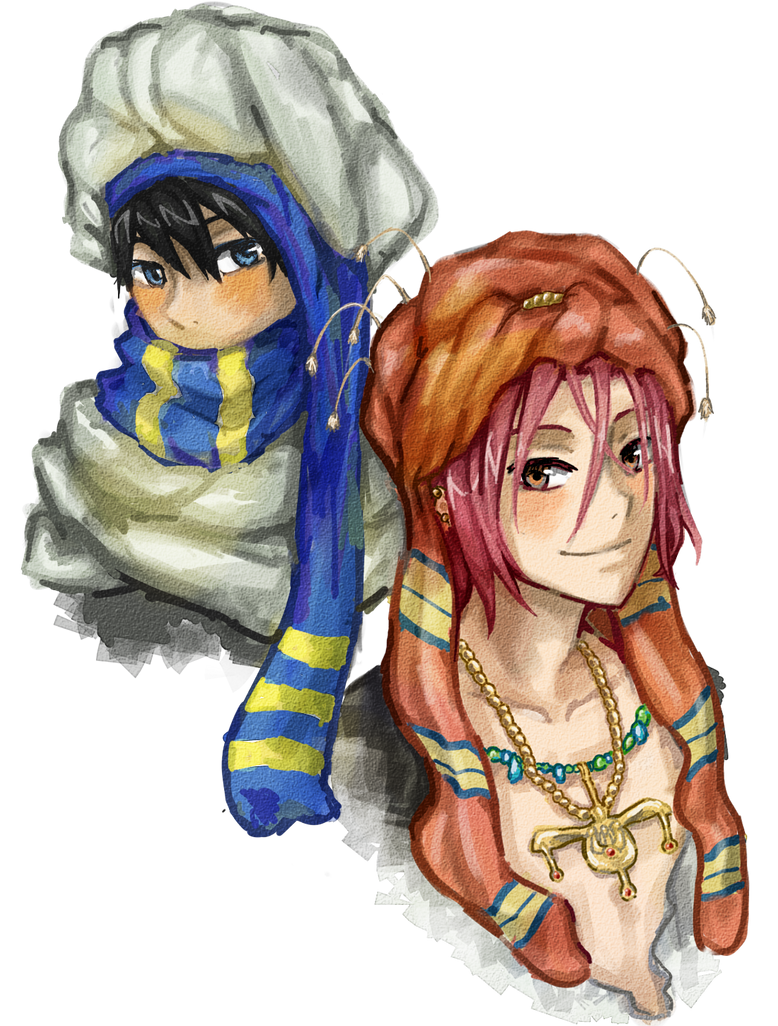 The Prince and The Traveler by inazumaniac