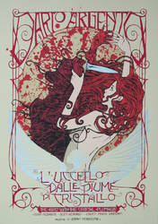 DARIO ARGENTO poster serie