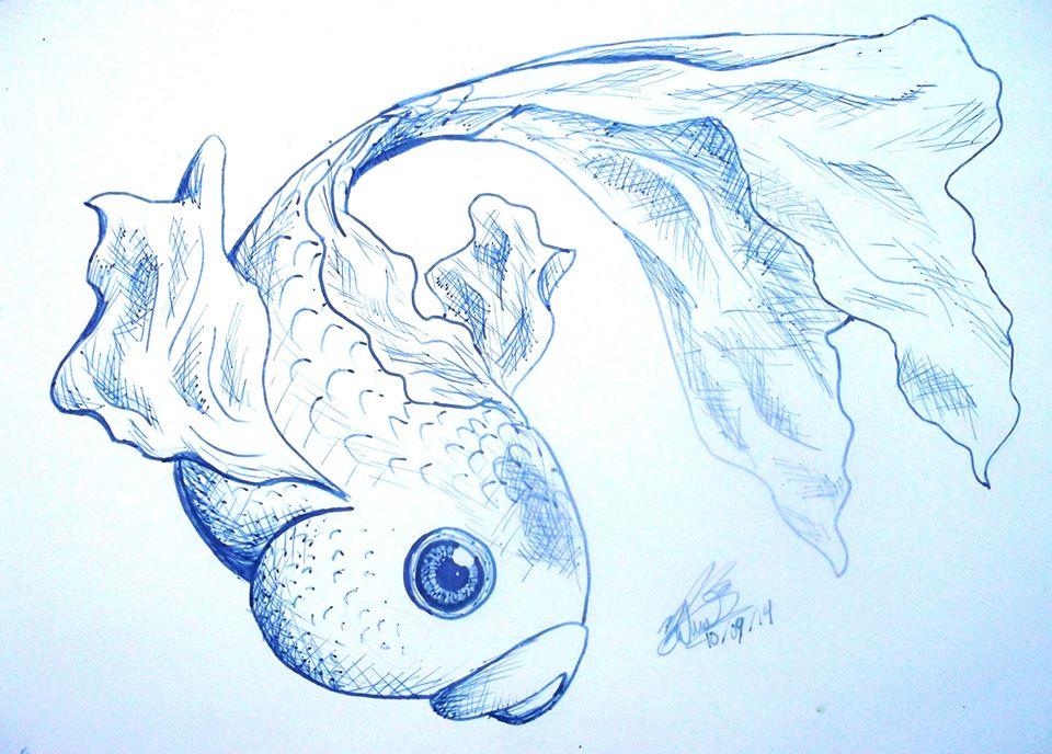 pez de tinta by hyaku-go