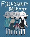 F2U DAINTY BASE- Smoll Base