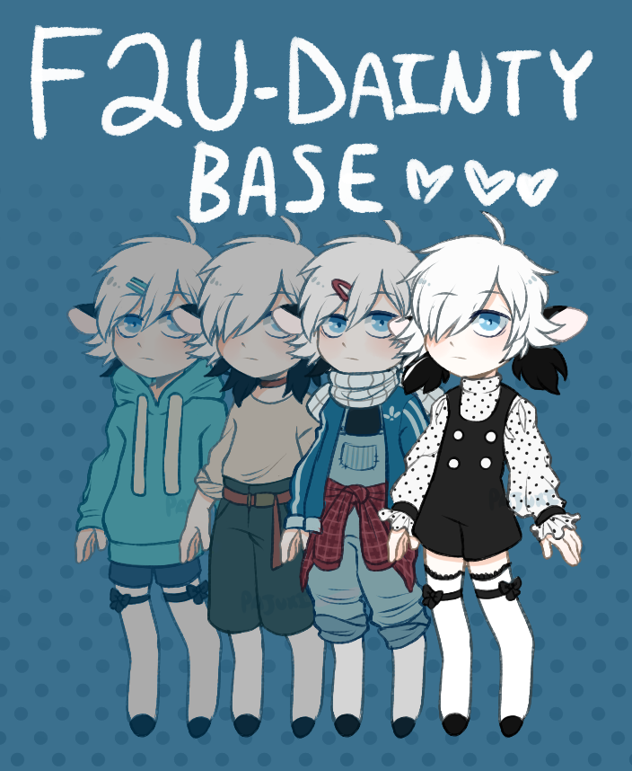 F2U DAINTY BASE- Smoll Base by Pajuxi-Adopts
