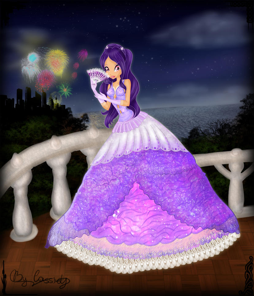 Club: Tu Historia Winx (2) - Página 5 Celeste_in_a_ball_gown_by_icassidyi-d3lb70i