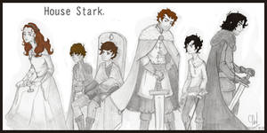 House Stark by Grouillote-oh