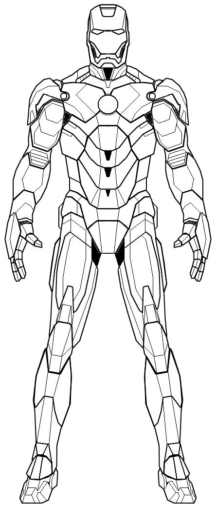 premium coloring book 80 sheets iron man mkiv by paladin01 on deviantart