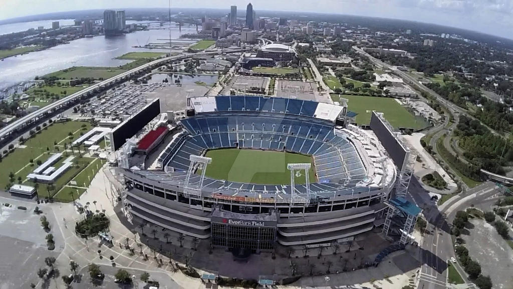 Everbank Field Aerial By Codemics On Deviantart