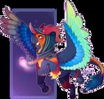 Quetzacoaltl Feathers - Adopt closed