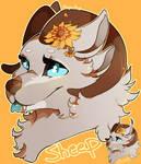 Sunflowers Sheep - Commish