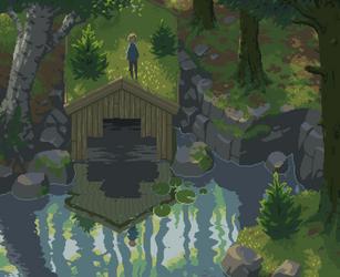 Boathouse by NostalgicTree