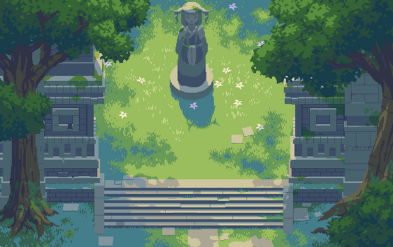Forest Statue
