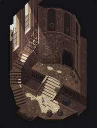 If Ico was a pixel art game