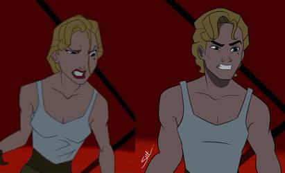 Helga Sinclair screenshot redraw by get-Seth