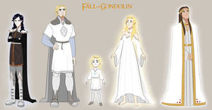 Character line-up: The Fall of Gondolin