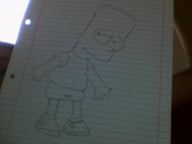 Desenho Do Bart Simpson Simpsons By Guilhermeuzumaki On Deviantart