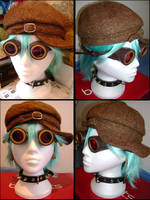 my Steampunk goggles by mtani