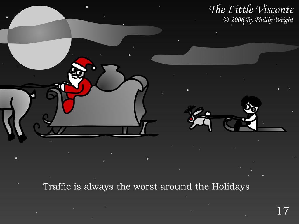 Little Visconte: Traffic
