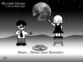 Little Visconte: Lunar Cheese by masterxodin