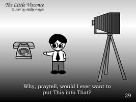 Little Visconte: Camera Phone by masterxodin