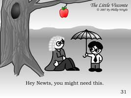 Little Visconte: Newton by masterxodin
