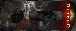 Blizzard Authenticator - Skeleton King by masterxodin