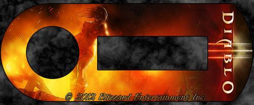Blizzard Authenticator - Leah Fire