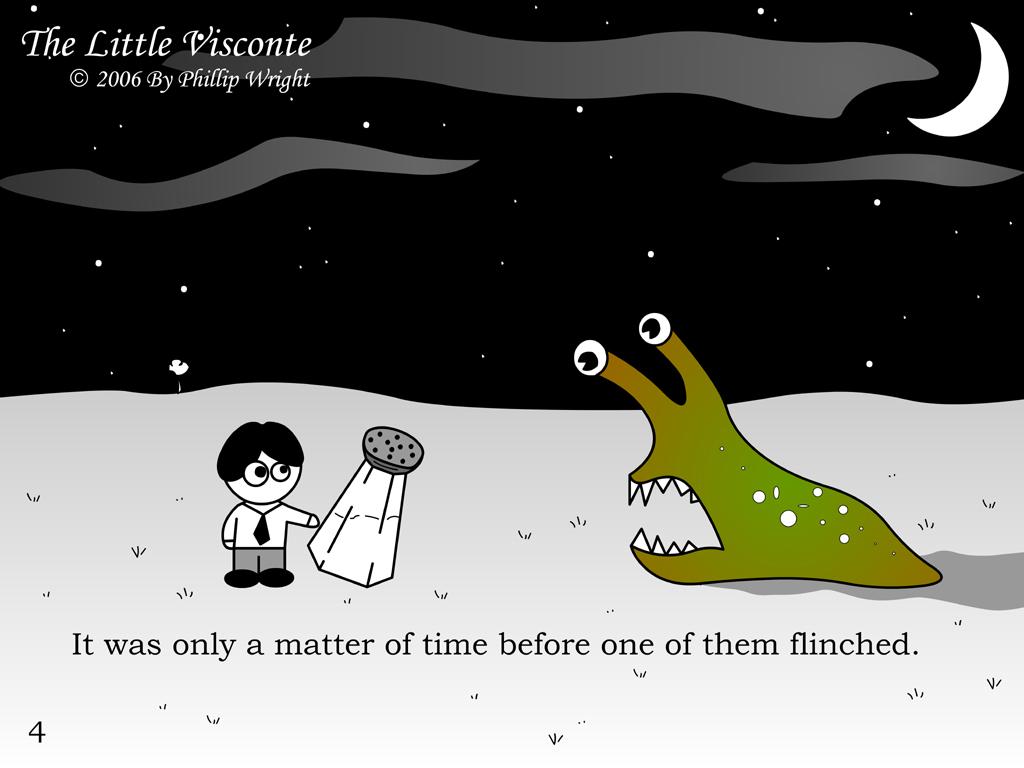 The Little Visconte: Flinch by masterxodin