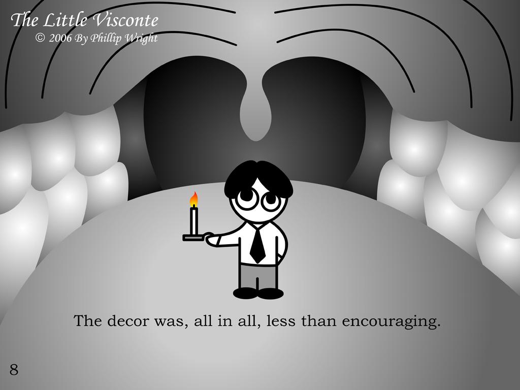 The Little Visconte: Decor
