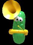 Larry Playing Tuba Render