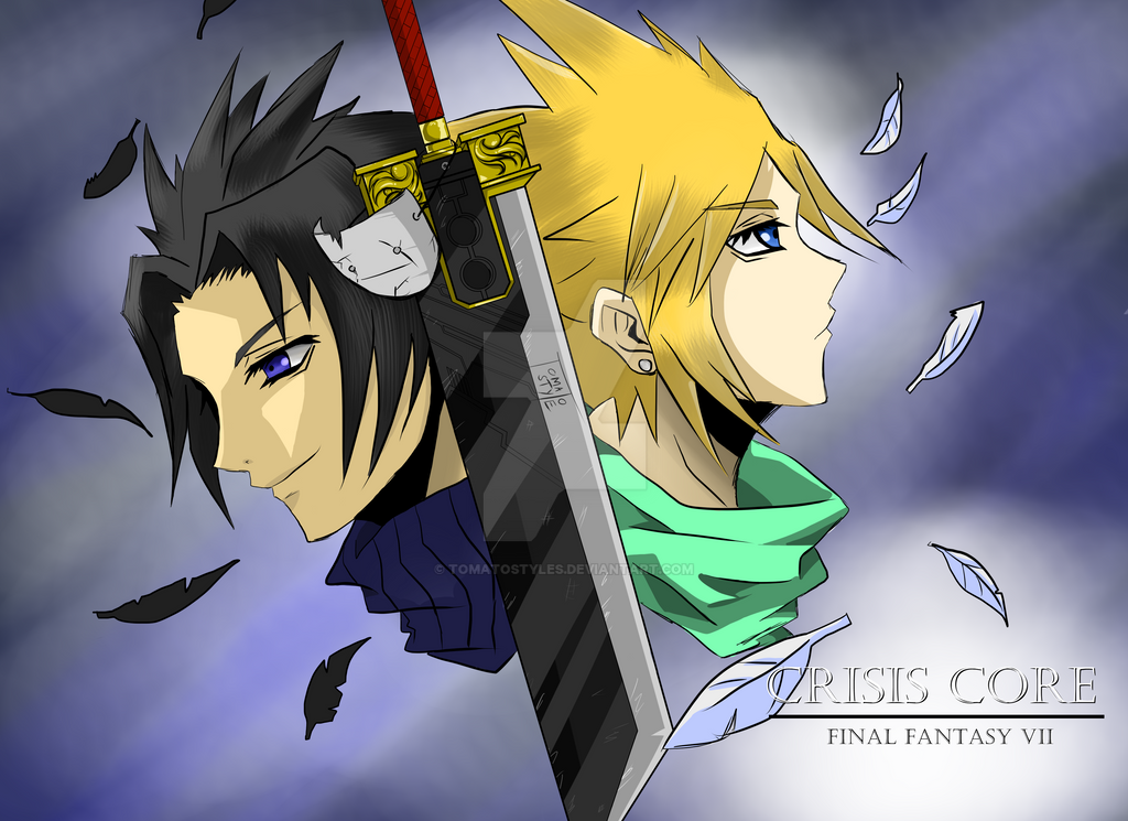 Final Fantasy VII Crysis Core by TomatoStyles