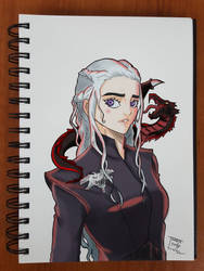 Day 221 Daenerys by TomatoStyles
