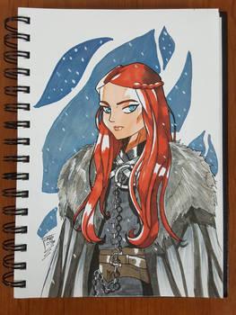 Day 235 Sansa Stark