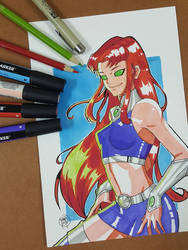 Day 250 Starfire by TomatoStyles