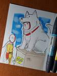 Day 345 Watchdog Man