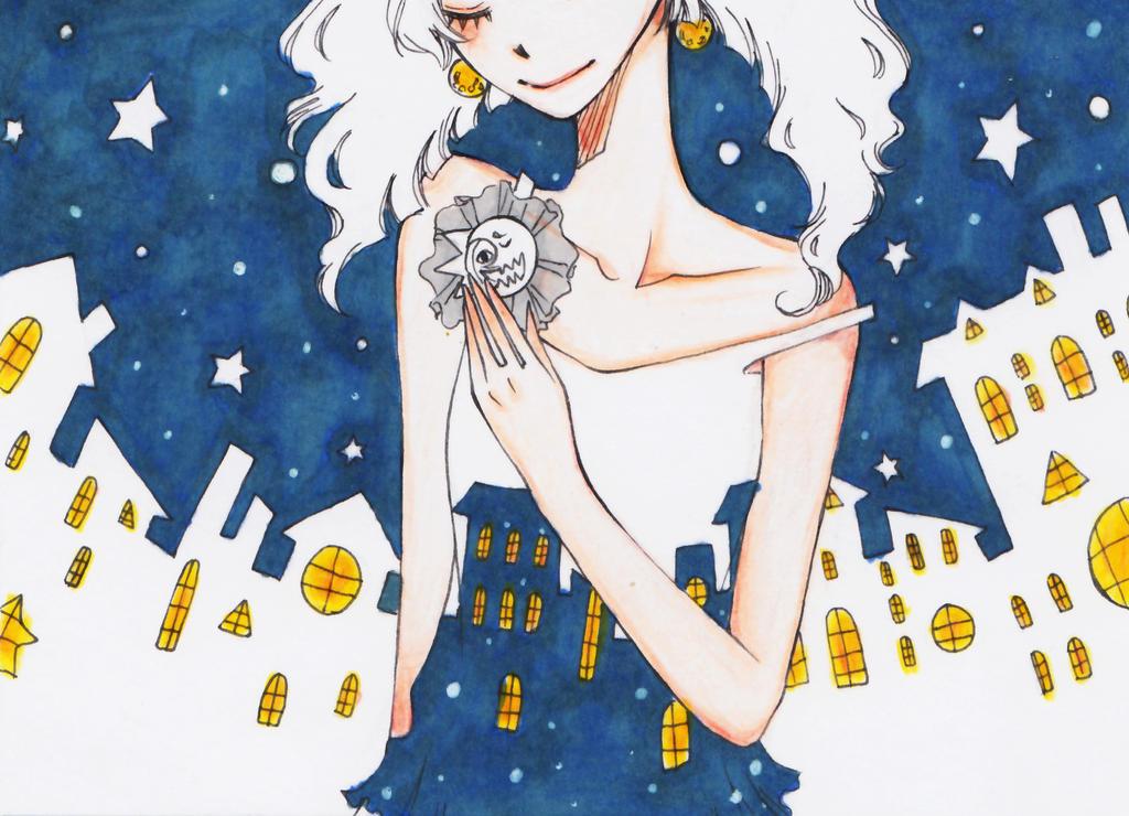 Star night by Yoki-fox-C