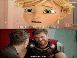 chloe is useless meme