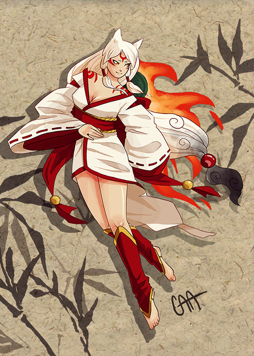 Amaterasu by fish-cicle