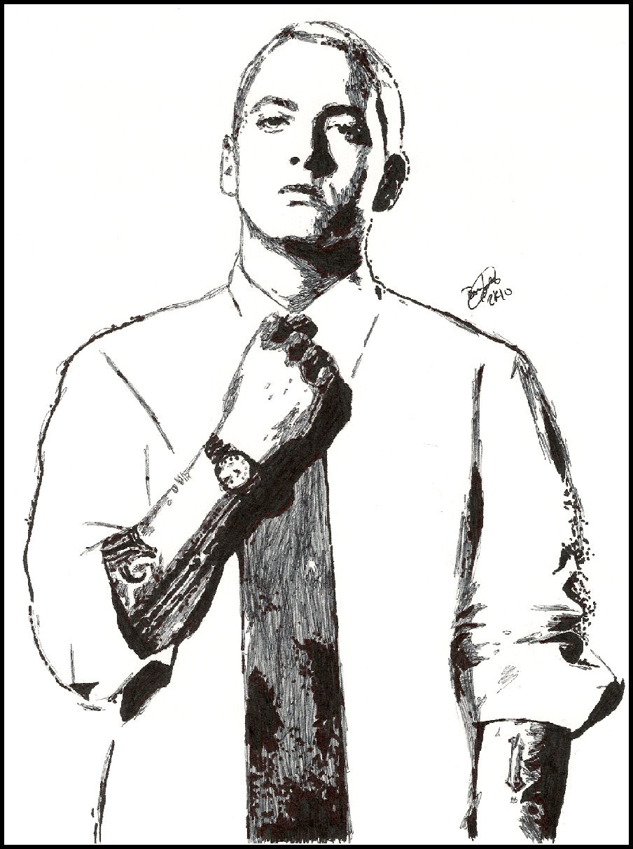 Eminem Sketch by breadzilla on DeviantArt