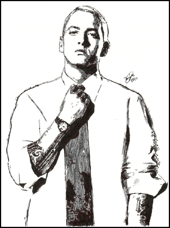 Eminem Sketch by breadzilla on DeviantArt