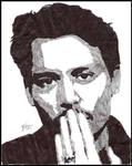 Johnny Depp - ink